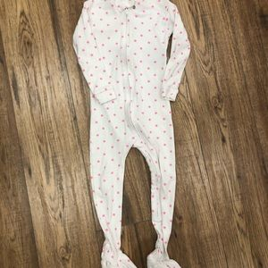 BABY GAP / one piece footed pjs with zip front